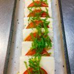 木綿豆腐とトマトのカプレーゼ風