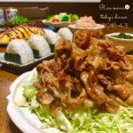 薄切り豚バラ肉の生姜焼き