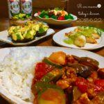 チキンと夏野菜のトマトカレー