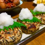 ひじきの煮物リメイク・豆腐ハンバーグ
