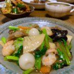 八宝菜(中華丼)のご紹介です